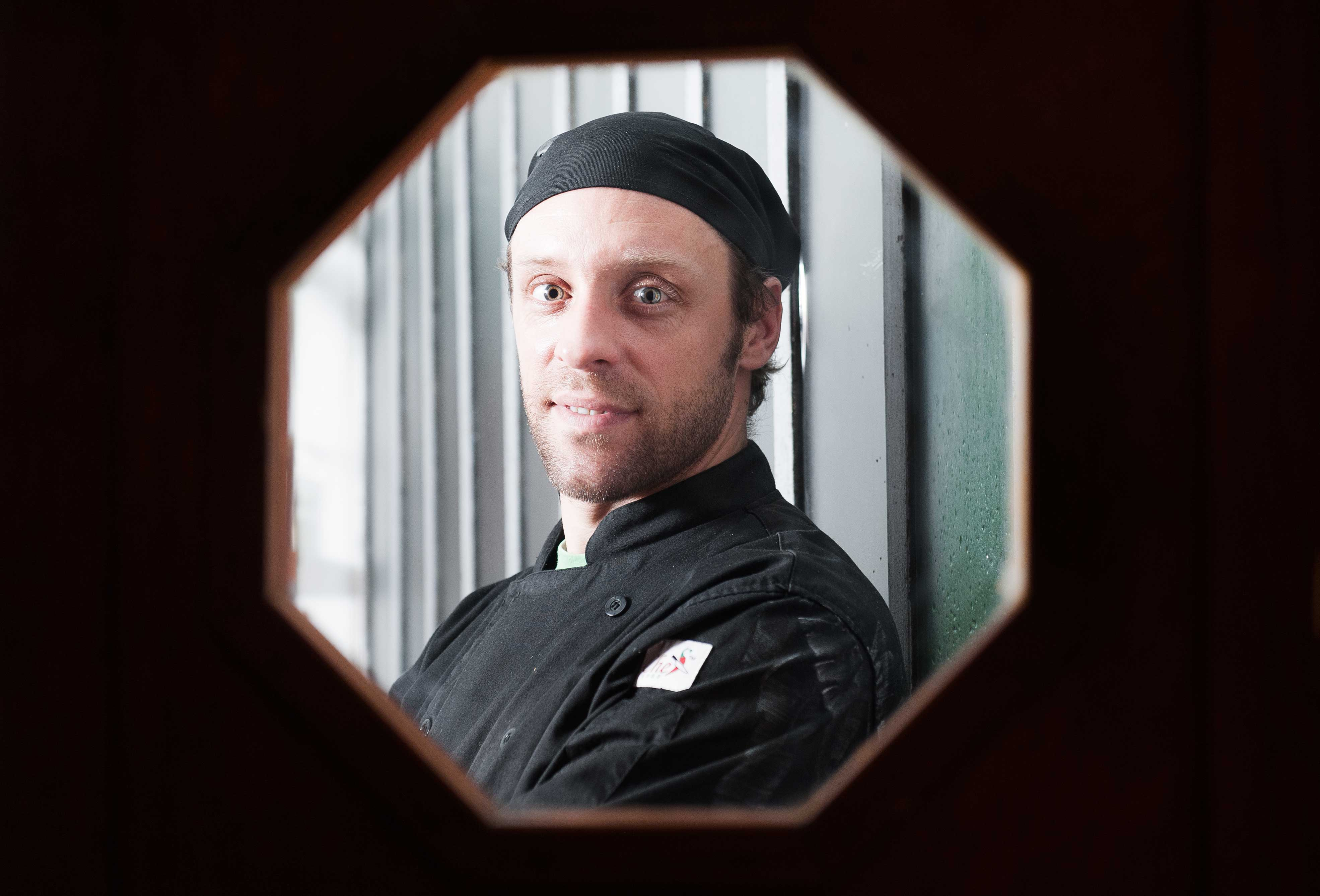 Gabriel Dugas, chef de Úrbani, ciudad vieja Montevideo.