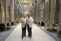 Michel Schachner editor de Wine Enthusiast, Christian Wylie Gte Gral de Garzón